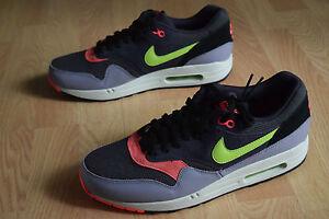 Détails sur Nike Air Max 1 Essentielles 42,5 43 44 44,5 45 Classique 90 Bw Tavas 537383 500