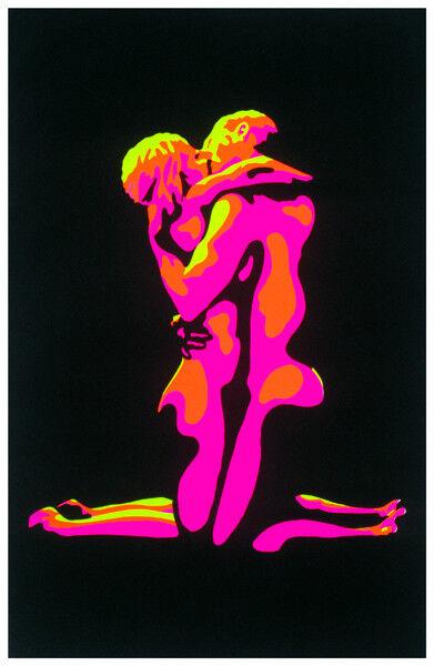 Naked Embrace Blacklight Amazing Colors! Great Black Light Sale! BRAND NEW !