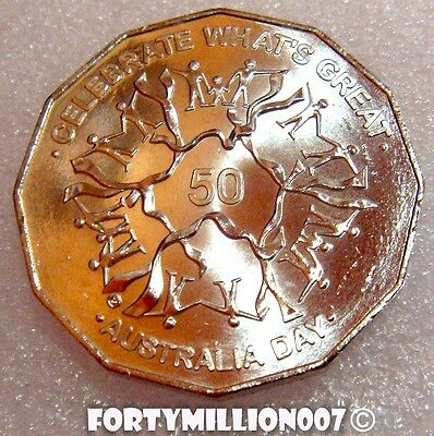 BU//Specimen Year of Rooster. Australia 2005 1//2oz Lunar Silver 50 Cents.