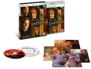 BLU-RAY  AMISTAD  PREMIUM EXCLUSIVE EDITION  BRAND NEW SEALED UK STOCK