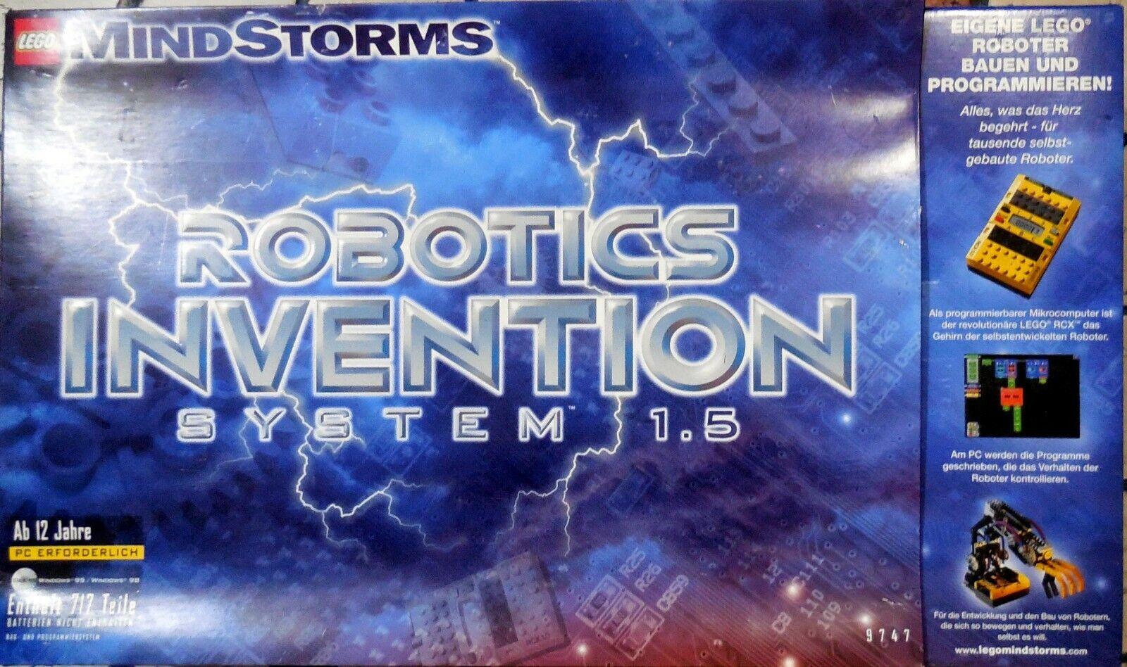 Lego 9747 Mind Storm Robotic invention System 1.5