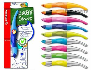 Stabilo Easy Start Original blau Tintenroller Füller Schreiben lernen NEU