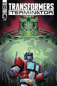TRANSFORMERS TERMINATOR #1 COVER A AND B VARIANT SET OF 2 2020 IDW DARK HORSE
