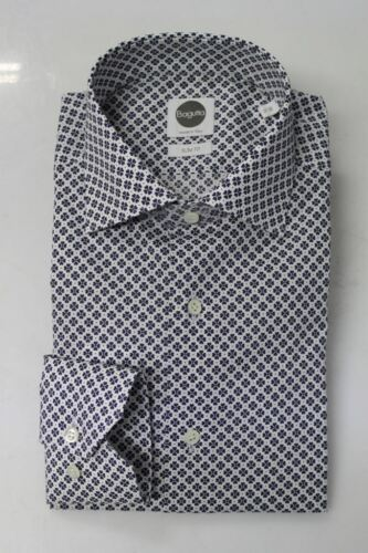 Bagutta Camicia Рубашка Shirt 30 Pp 16 Fantasia B145l Uomo 00 05339 128 € BdqrdxTt