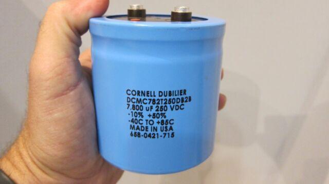 CORNELL DUBILIER DCMC152T450BC2B 1500UF 450VDC Computer Grade Capacitor
