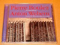 CD Pierre Boulez Livre pour Quatuor- Webern Trio op 20 - Quatuor Parisii- NEUF