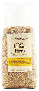 3-Pounds Bag Packaging May Vary Roland Pearled Farro