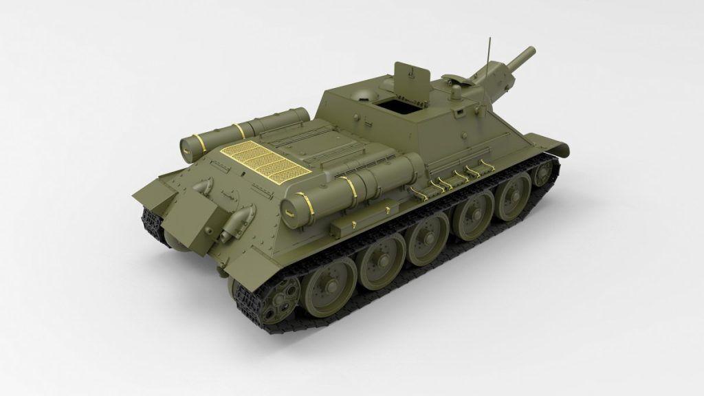 MINIART SU-122 SU-122 SU-122 FULL INTERIOR KIT 1 35 35208 8b49a1