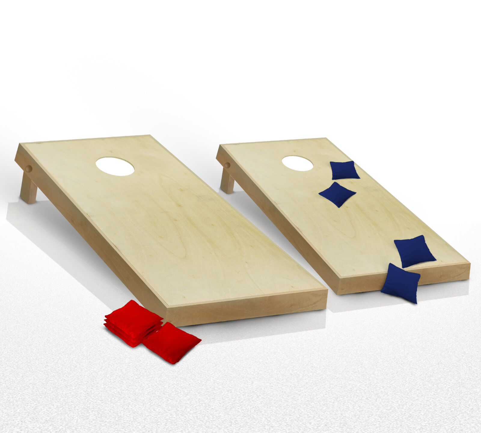 CORNHOLE BOARDS JUNIOR GAME SET Bean Bag Toss + 8  Bags  Office Dorm Games  there are more brands of high-quality goods