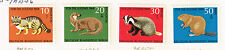 Germany Fauna Forest Animals set 1968 MLH
