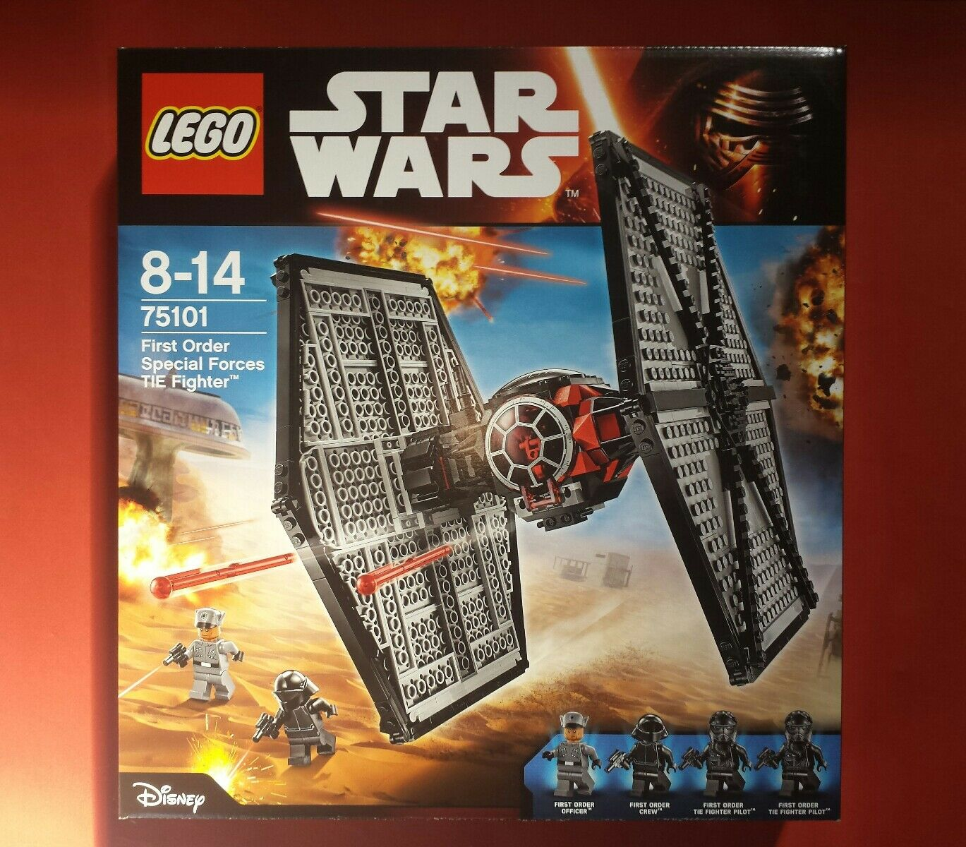 Lego STAR WARS First Order Special Force Tie Fighter  75101 -Neuf -