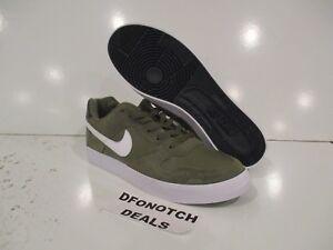 819720b9834 Nike SB Delta Force Vulc Skate Shoes Sz 9 Green White 942237 200 NEW ...