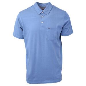 Rip-Curl-Men-039-s-Teal-Blue-S-S-Polo-Shirt-Retail-35