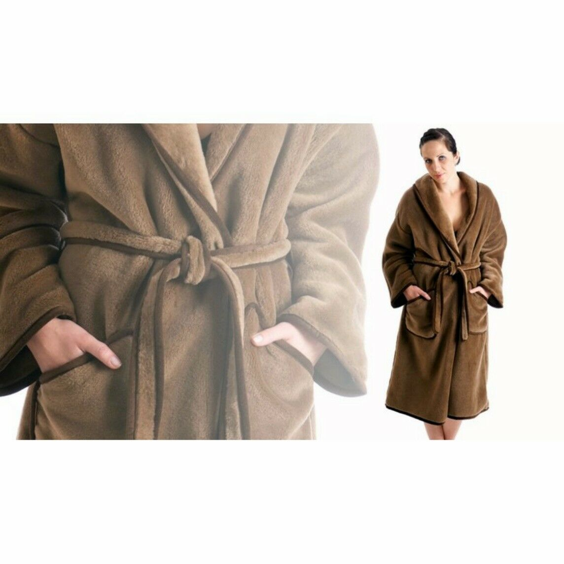 Robe from Kamelwolle, for Men and Women, Woven, Superwash, SIZE S-XXXL