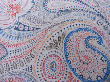 LIBERTY COTTON & SILK VOILE  1.00 MTRS of CHARLIES PAISLEY no 1