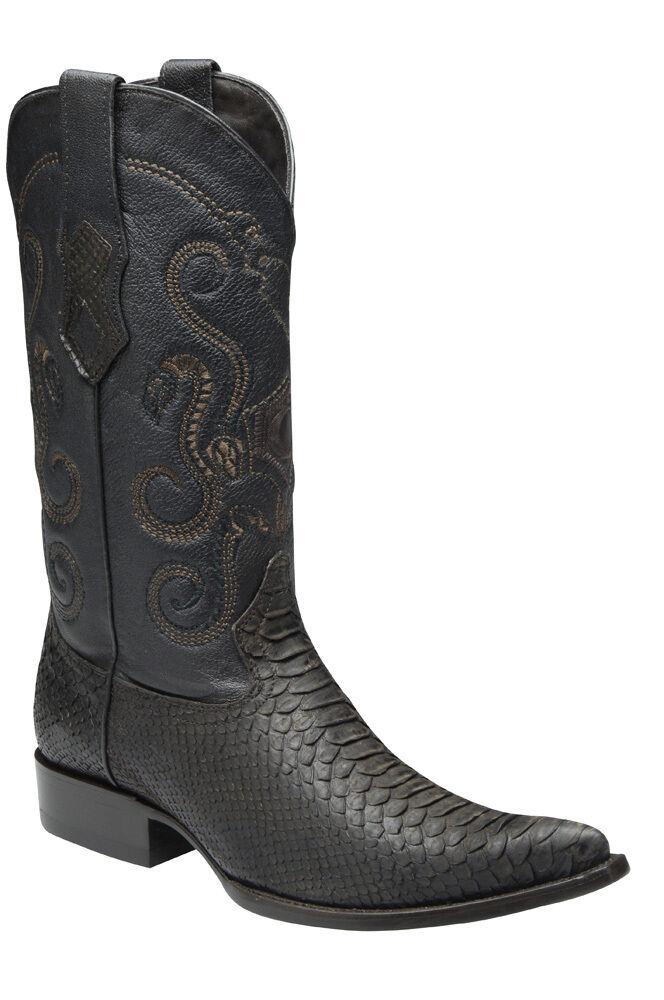 Y3 Python Boot Western Cowboy Boot Python made by Cuadra Boots b70efa