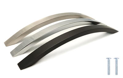 WREN Lucy Polished Chrome Bow Kitchen Cabinet Handle 220mm L