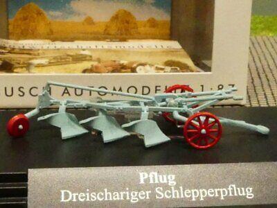 1/87 Busch Dreischariger Rimorchiatori Aratro 59914-mostra Il Titolo Originale Ultima Tecnologia