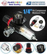 Afr 2000 14 Air Compressor Oil Water Regulator Filter Pressure Gauge Moisture