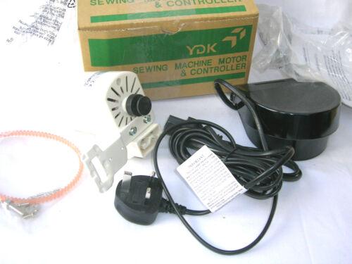 YDK 120W HEAVY DUTY CM500 BLIND STITCH SEWING MACHINE MOTOR /& FOOT CONTROL PEDAL