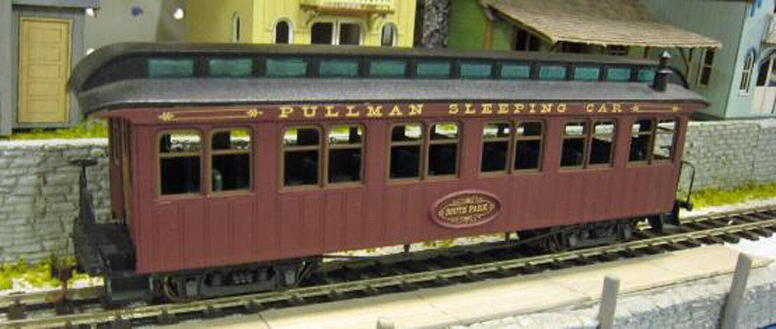 DSP&P 1879 46' PULLMAN SLEEPER On30 Model Railroad Kit-Basher Unptd Kit DFD6L