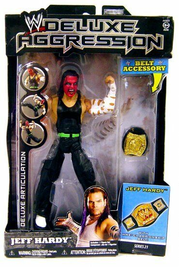 WWE_DELUXE AGGRESSION Series   21 Collection_JEFF Collection_JEFF 21 HARDY 6 inch action figure_MIP ecdd5f