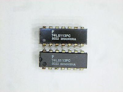 "F74LS113PC  /""Original/"" Fairchild 14P DIP IC  2  pcs"