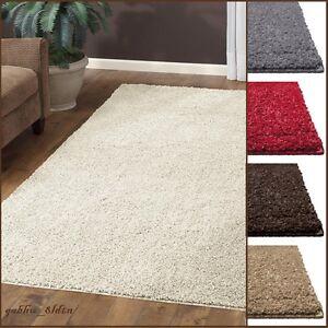 new shag area rug thick and soft home big plush carpet living room large 7 39 x10 39 ebay. Black Bedroom Furniture Sets. Home Design Ideas