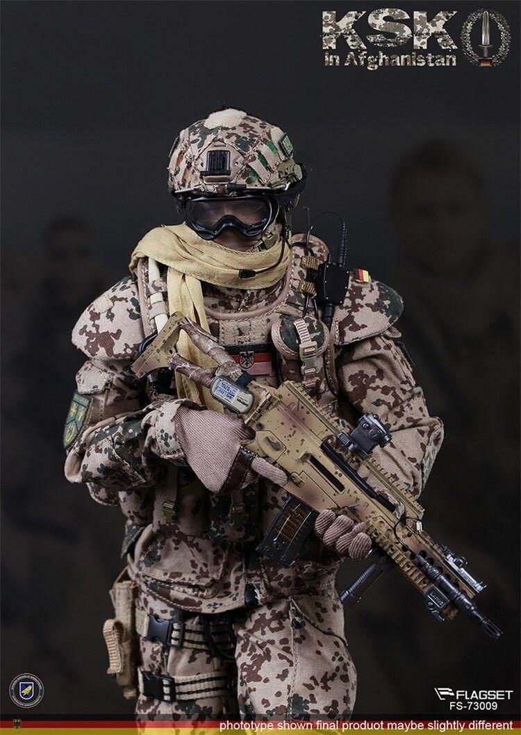 FLAGSET FS-73009 German Special Forces KSK Assaulter in Afghanistan 1 6 FIGURE