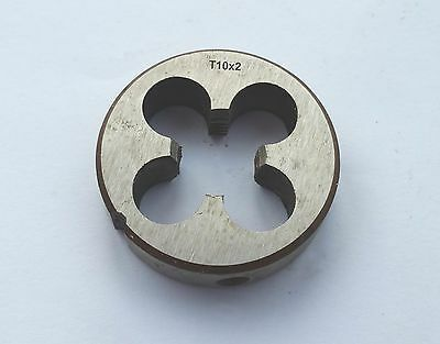HSS Trapezoidal Metric Right Hand Die TR10 x 2mm Pitch T10 x 2 mm