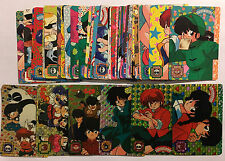 Ranma 1/2 Carddass PART 1 Full Set 42/42