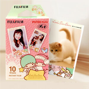 10Pcs Fujifilm Instax Mini Color Film For Fuji 7s 8 9 70 90 Instant Camera SP-1