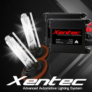 AUTOVIZION Xenon 55W HID KIT SLIM H11 9006 8000K Ice Blue Beam Headlight Light