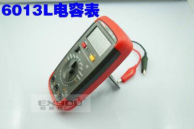 New UA6013L Auto Range Digital LCD Capacitor Capacitance Tester Meter Multimeter