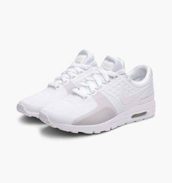 Nike Da Donna Air Max Zero Scarpe 104 Da Ginnastica Bianco 857661 104 Scarpe ~ 7 8b240d