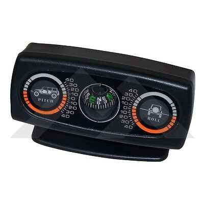 Clinometer & Compass Meter Jeep CJ YJ TJ Wrangler Offroad RT Offroad RT27045