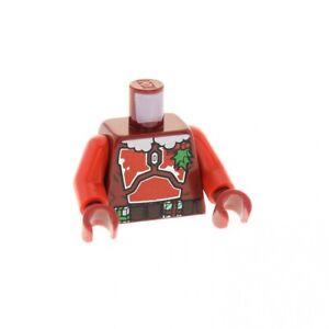 1x-Lego-Figur-Star-Wars-Santa-Jango-Fett-Torso-dunkel-rot-sw0506-973pb1504c01
