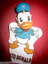 Vente ancienne marionnette a doigt-23 cm-Donald(1960)