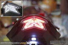 2013-2017 Kawasaki Ninja ZX-6R ZX6R Z800 SEQUENTIAL Signal LED Tail Light Clear