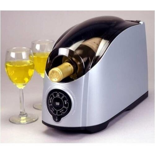 Cooper Cooler Rapid Beverage & Wine Chiller Silver
