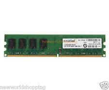 Crucial 2GB DDR2 667MHz PC2-5300 2RX8 240PIN DIMM Desktop Memory RAM Low Density