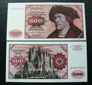 Spielgeld 10 x 500 DM / Deutsche Mark - Hannover, Deutschland - Spielgeld 10 x 500 DM / Deutsche Mark - Hannover, Deutschland