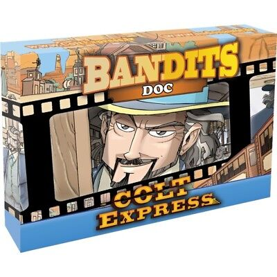 Multilingual Edition Bandits Doc Expansion for Colt Express New by Ludonaute