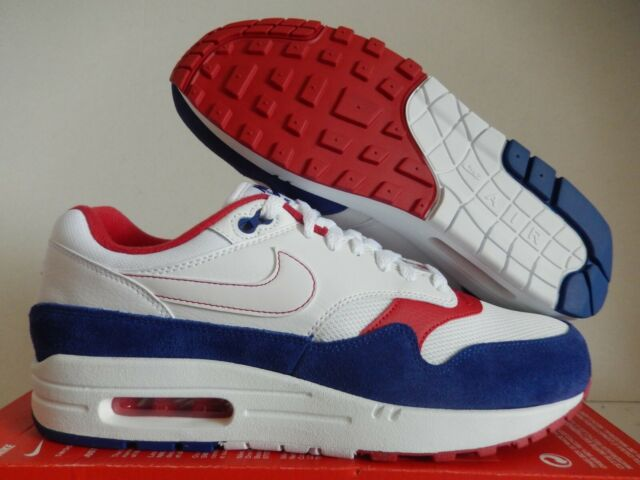 air max 1 red and white mens