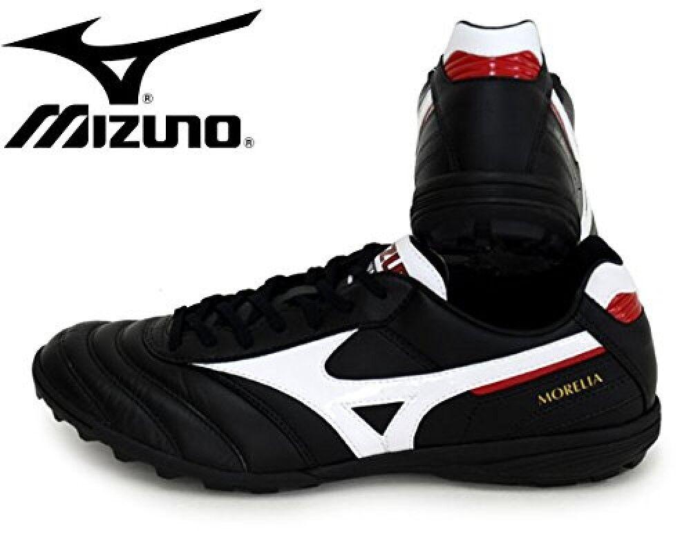 Zapatos DE FUTSAL FÚTBOL Mizuno Morelia TF Q1GB1600 Negro blancoo x