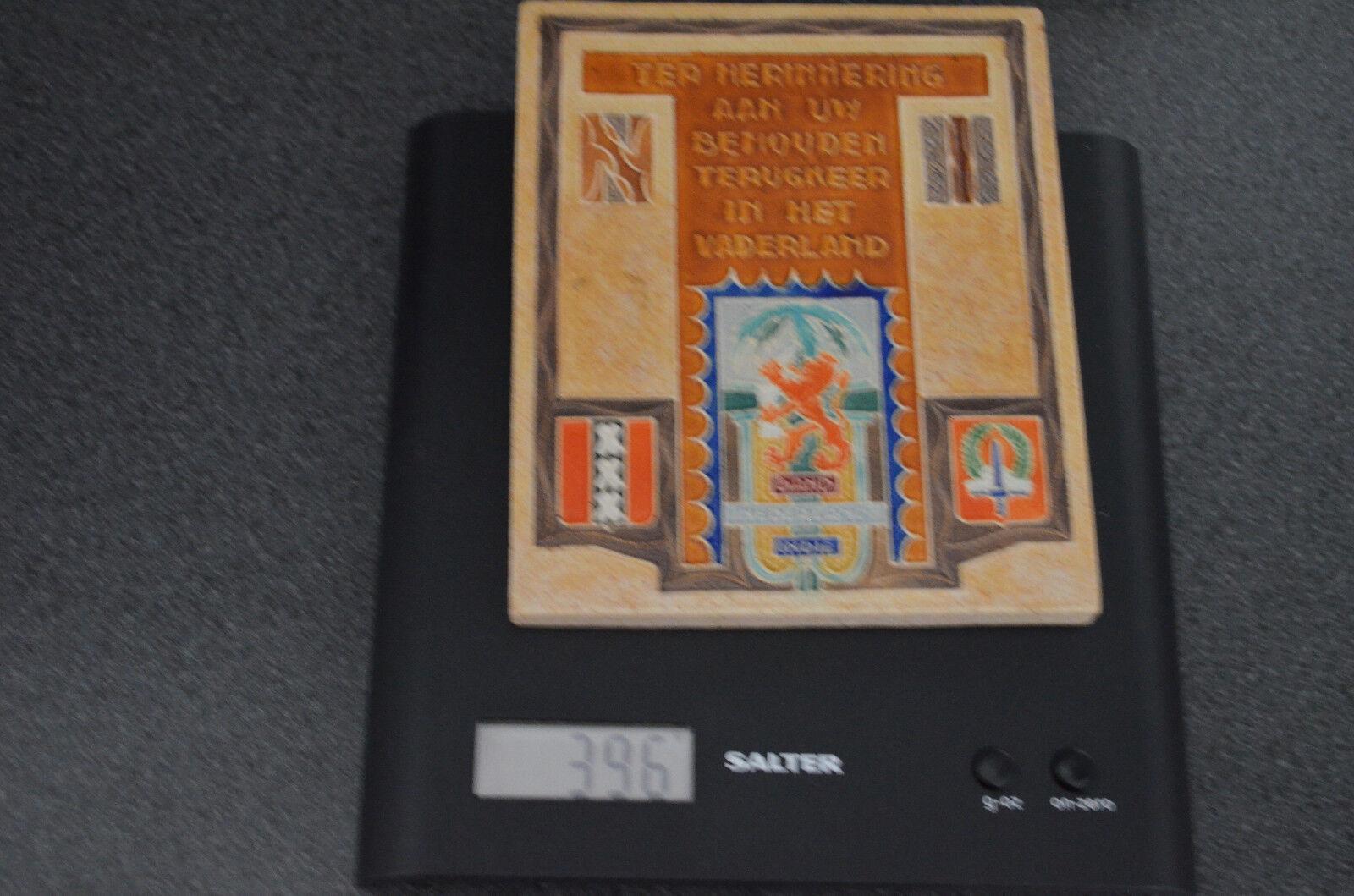 Westraven Cloisonne Azulejo Utrecht Amsterdam Nederlands Indie Indie Nederlands behouden terugkomst 18e776