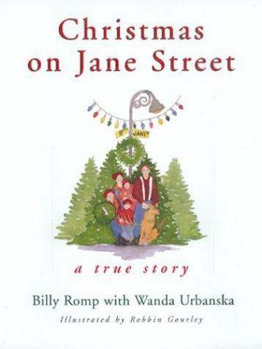 Christmas On Jane Street A True Story By Urbanska, Wanda,Romp, Billy, Good Book - $1.06