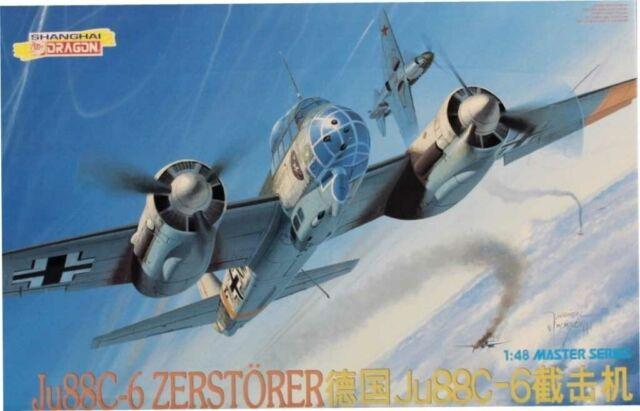DML Dragon 1:48 Ju-88 G-1//G-10 Plastic Model Kit #5521U