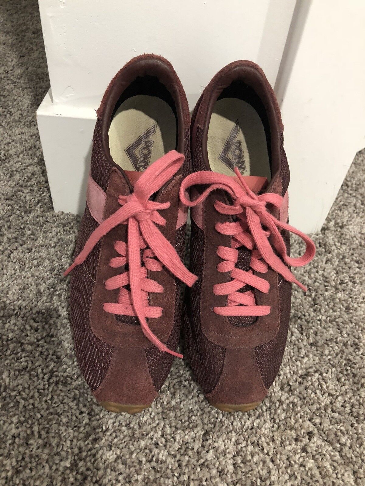 Pony Pink Womens Sneakers Size 8.5