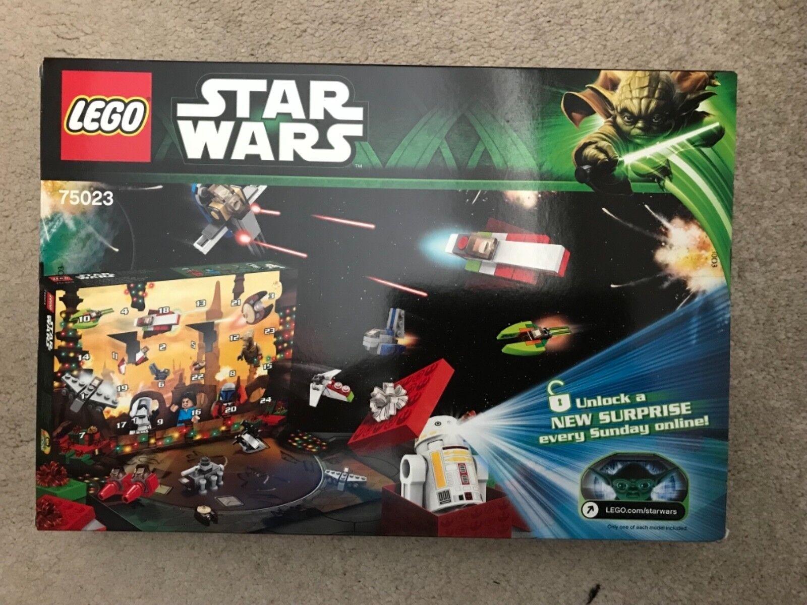 LEGO Star Wars 2013 Calendario dell'Avvento. NUOVI e non aperti. UK consegna gratuita. 75023
